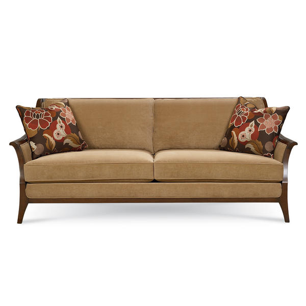 Schnadig international ella wood sofa by