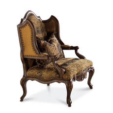 Degas Wood Wing Chair