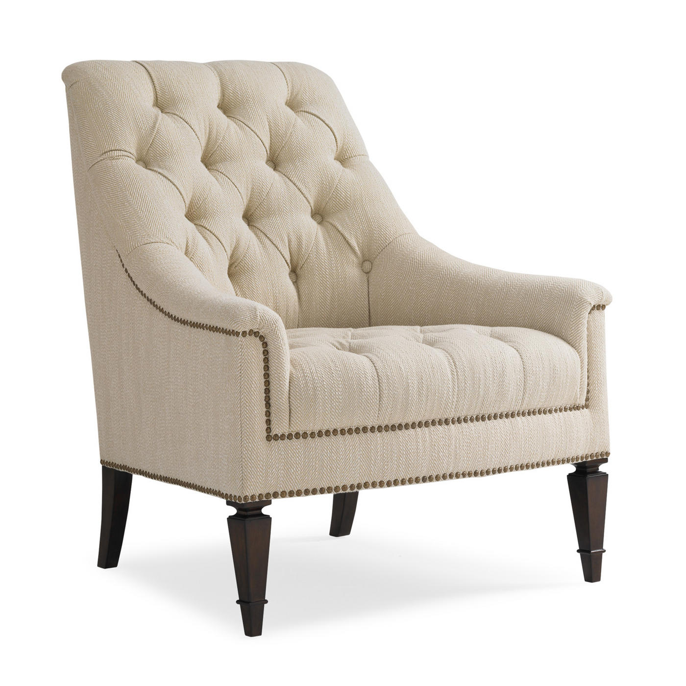 Schnadig International Classic Elegance Tufted Chair